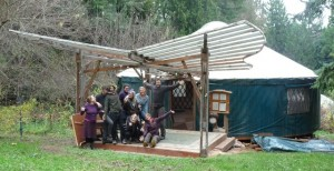 tryon yurt group shot