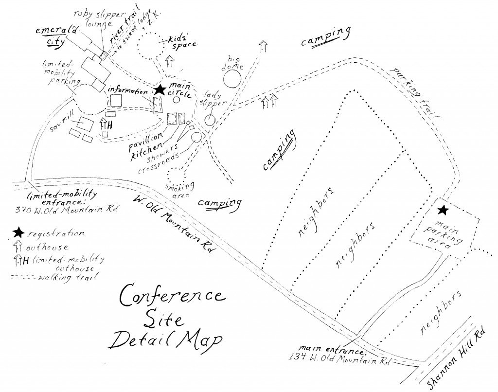 conf site detailed map
